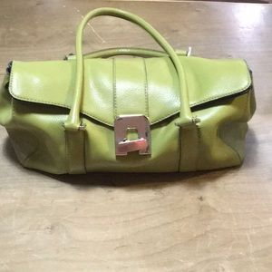 Accessories - Green leather purse